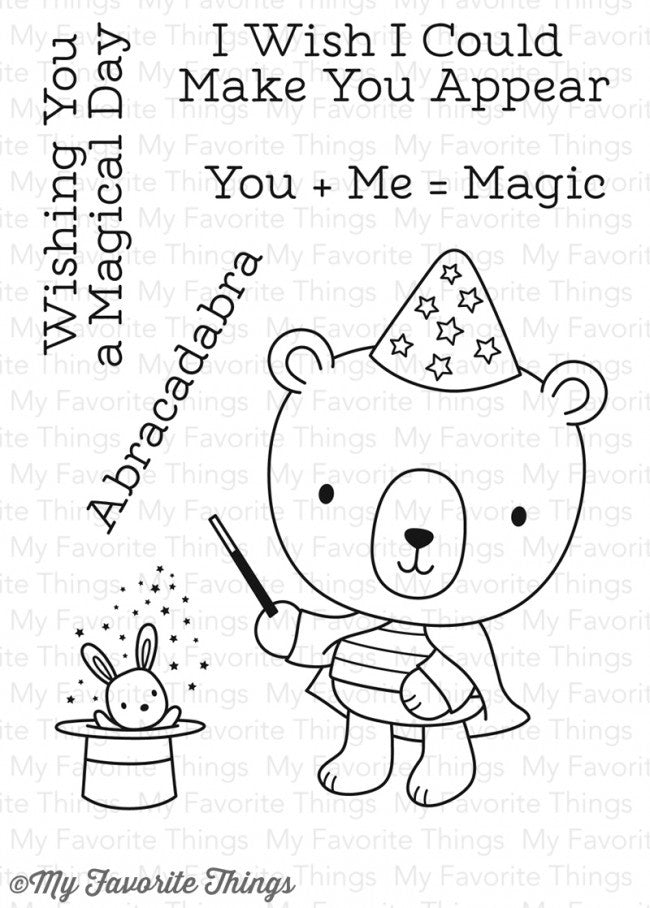My Favorite Things: Magical Day Stamp Set