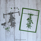 Concord & 9th: Mistletoe Card Frame Add-On Dies