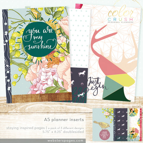 Staying Inspired Inserts (A5)