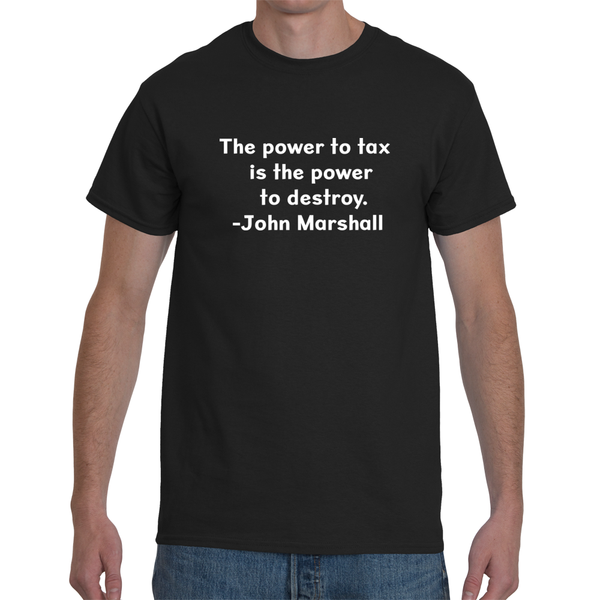 The Power to Tax Tee - abcsoupgang