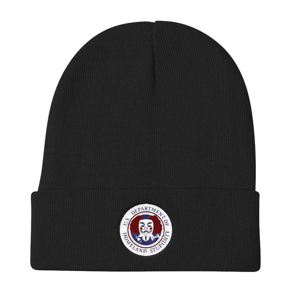 Department of Homeland Stupidity Watch Cap - abcsoupgang