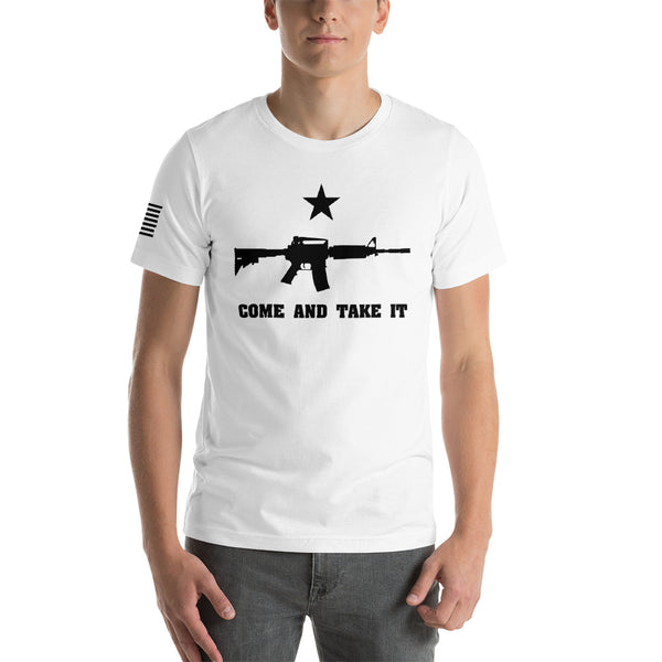 Come And Take It Tee - abcsoupgang
