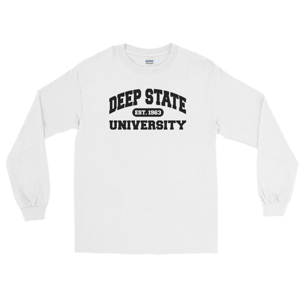Deep State University Long Sleeve Tee