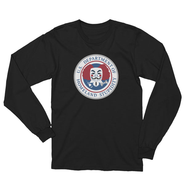 Department of Homeland Stupidity long sleeved tee - abcsoupgang