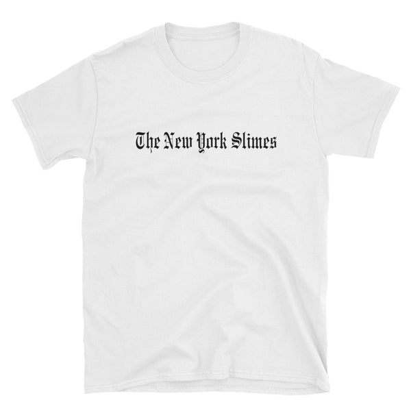 New York Slimes Tee, White - abcsoupgang