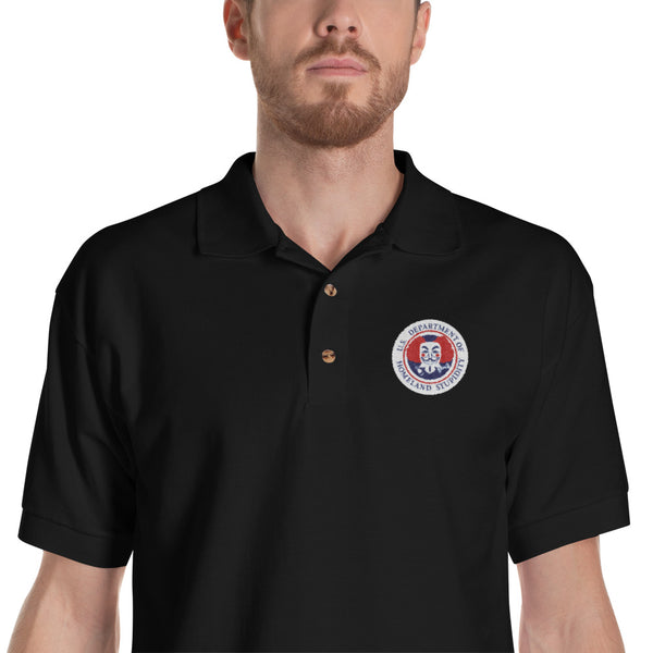 Department of Homeland Stupidity Polo - abcsoupgang