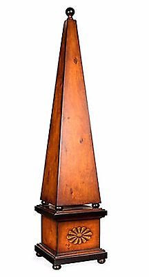 Huge Burl Wood Obelisk 40 inches Tall - FineHomeDecor101