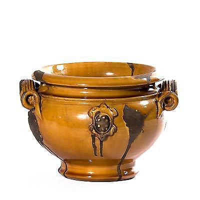 Italy's Medici Honey Small Planter 9 by 6.5 inches - FineHomeDecor101