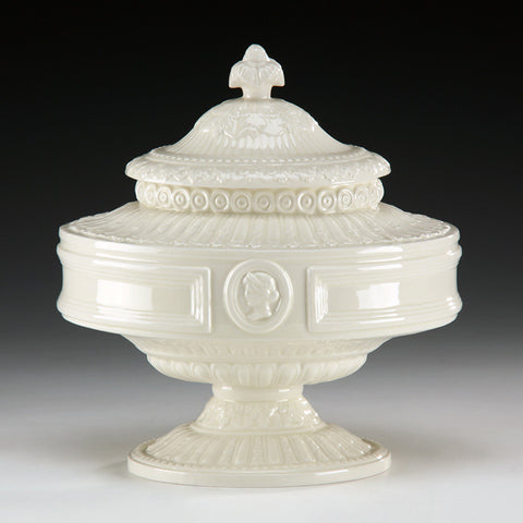 Ceramic Tureen Made In Italy 11.25 X 9.5 X 11.25 - FineHomeDecor101