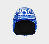 Asian Blue and White Beanie