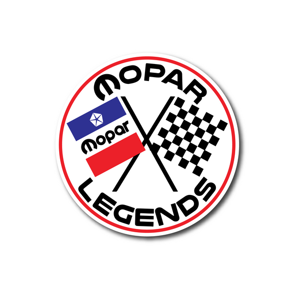 Mopar Legends Sticker