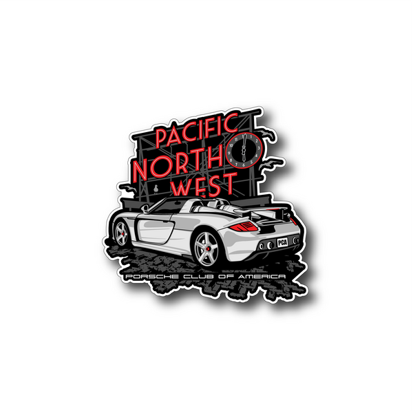 Pacific Northwest Region - August 2020 Die-Cut Sticker