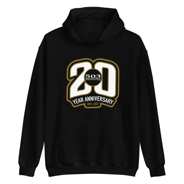 503 Motoring 20th Anniversary 20 - premium pull over hoodie Series 001