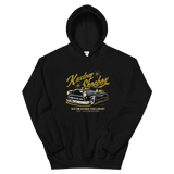 Sold Out - Kustom Shoebox Ford Library - Series 01 premium Hoodie.