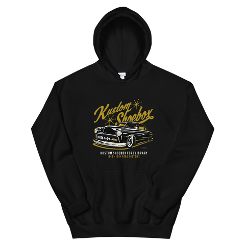 Kustom Shoebox Ford Library - Series 01 premium Hoodie.