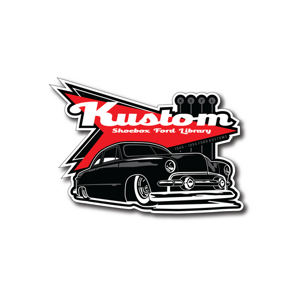 Kustom Shoebox Library - Series 07 Sticker 3.5 inch - JD 51