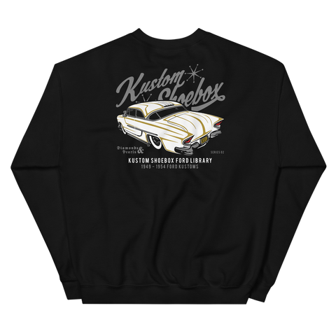 Sold Out - Kustom Shoebox Ford Library - Series 002 premium Crewneck Sweater.