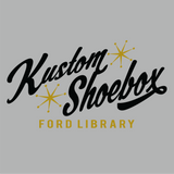 Kustom Shoebox Ford Library - Logo premium T-Shirt (Gray)