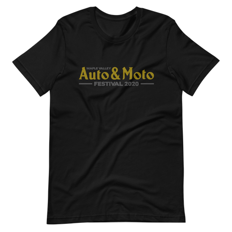 Maple Valley Auto & Moto Festival Mens Logo T-Shirt (Charity Drive)