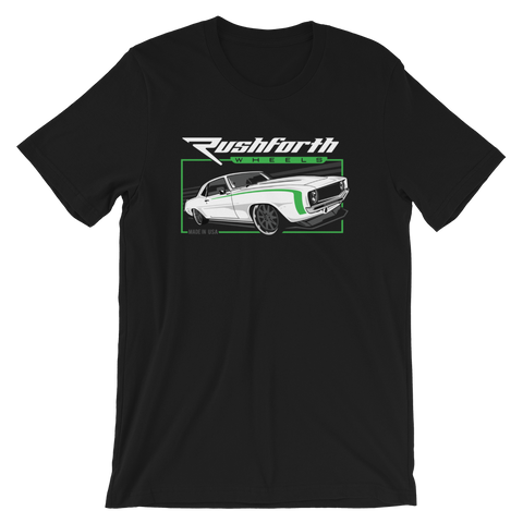 Rushforth Wheels T-Shirt (limited time only) Series 001