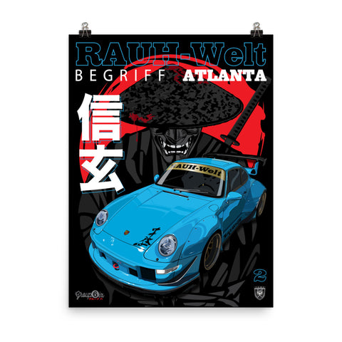 RWB Shingen of Atlanta,  Premium Poster