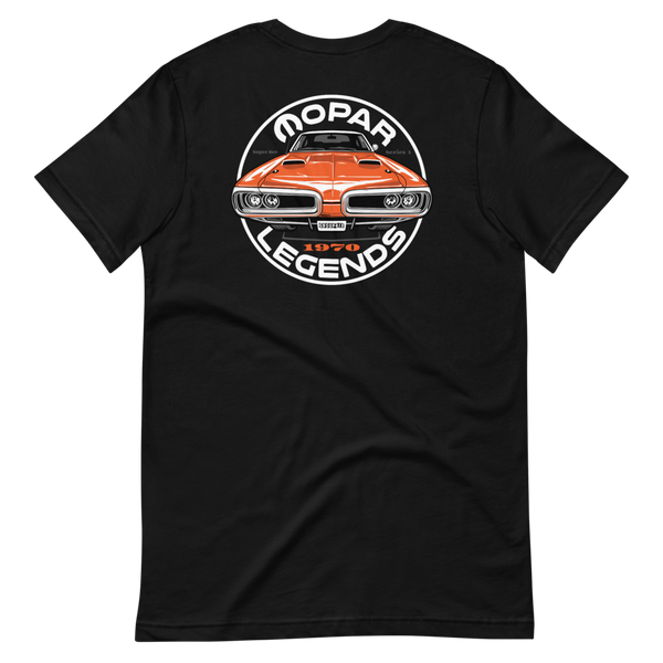 Mopar Legends - Shirt Series 1 - Go man Go orange Super Bee
