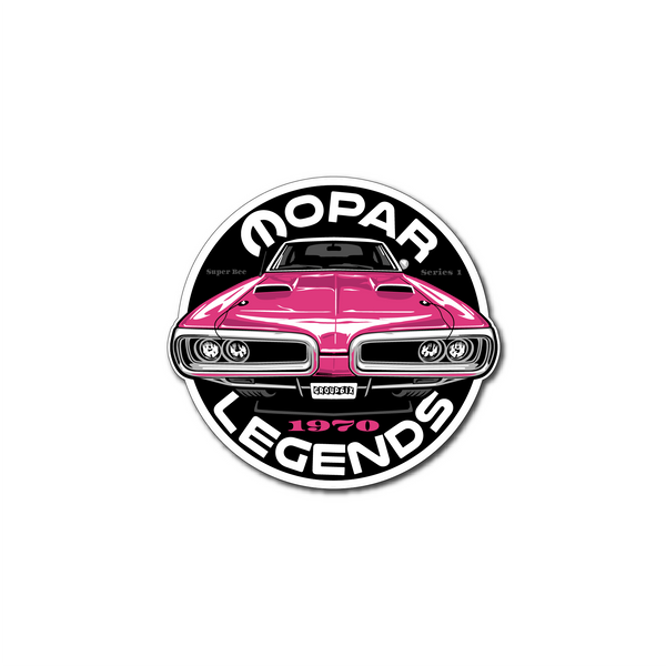 Mopar Legends Sticker (Panther) - Series 1 Sticker 3 inch