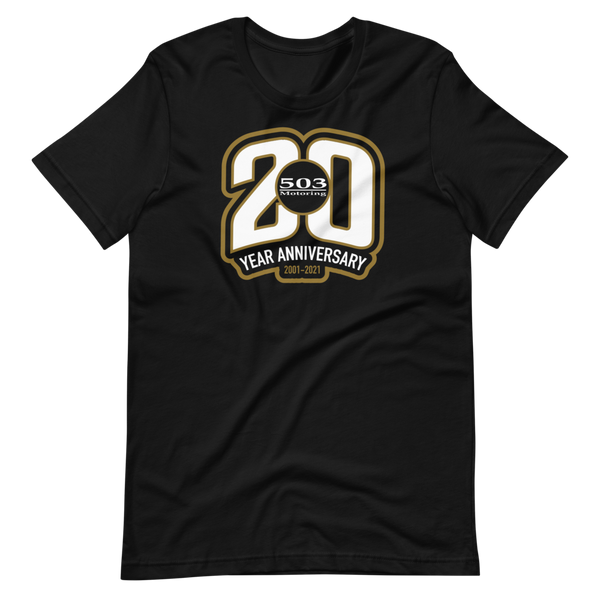 503 Motoring 20th Anniversary 20 T-Shirt (limited time only) Series 001