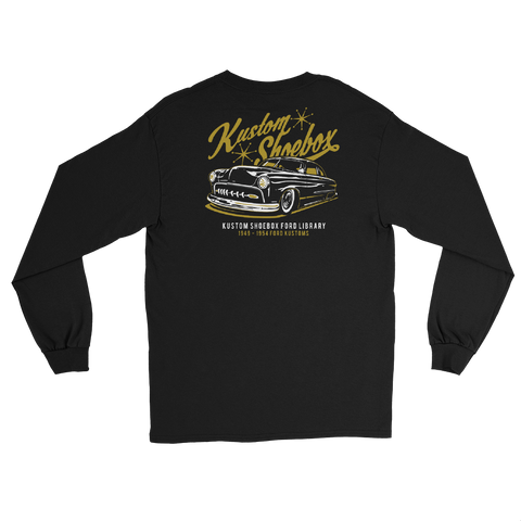 Kustom Shoebox Ford Library - Series 1 long sleeve Shirt (Black)