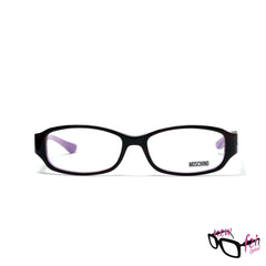 Moschino MO126 04S Brown Purple|Moschino MO126 04S 外啡內紫色