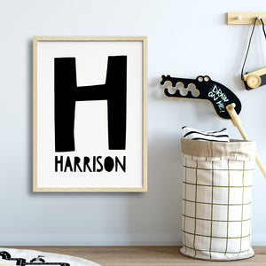 Boys Nursery Wall Art Prints Australia