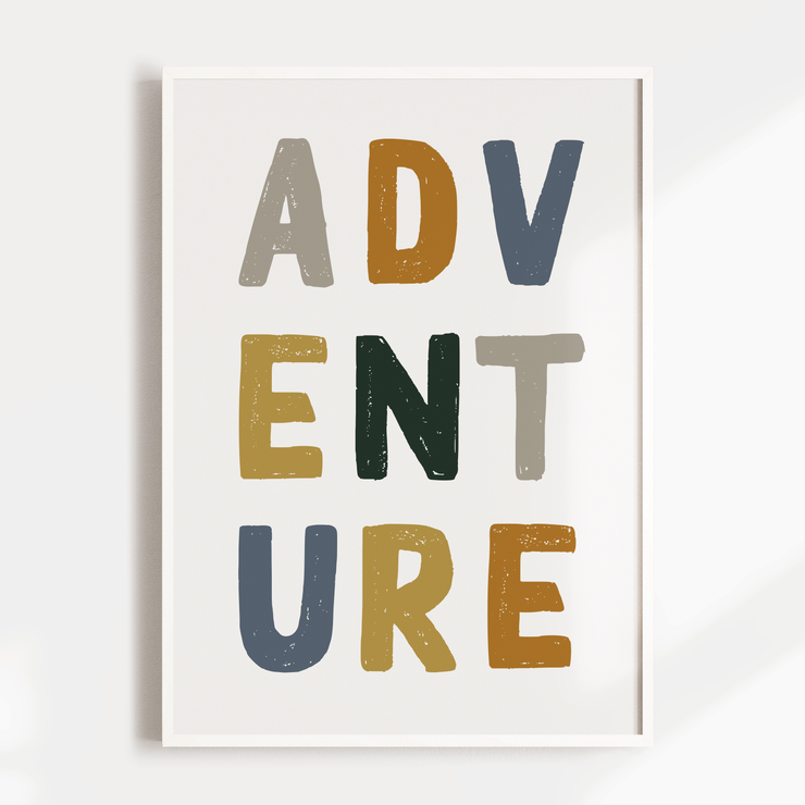 Adventure | Lion | Rainbow - Set of 3