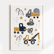 Construction Vehicles | Play | Rainbow - Set of 3