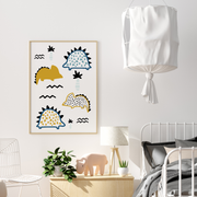 Dinosaur Nursery Wall Art Print