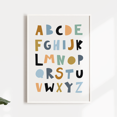 Jungle & Tropical nursery wall art print