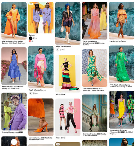 The Digital Weaver SS22 Colour Trends