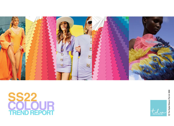 SS22 Colour Trend Report A4 Digital File