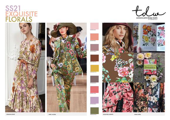 TREND Exquisite Florals A3 Digital File