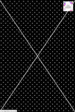 Spot Design - 3mm - Black & White