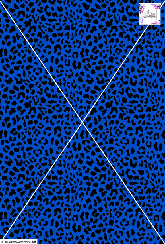 Cheetah Design - 20mm - Cobalt & Black