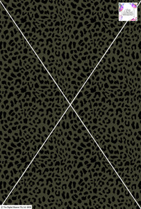 Cheetah Design - 20mm - Khaki & Black