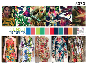 TREND Sunset Tropics A3 Digital File