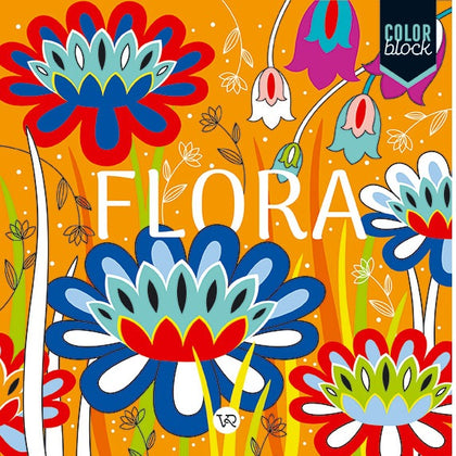 Color Block - Mandalas Flora