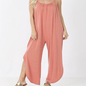 Simple Jumpsuit+ - ash rose