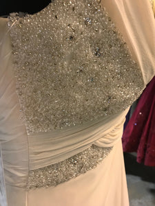 Missing beading on bodice