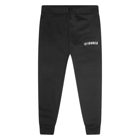 1FIGURES - Black Staple Sweatpants