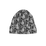 1FIGURES - Steel Grey Intarsia Beanie
