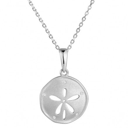 Sterling Silver Sand Dollar Necklace