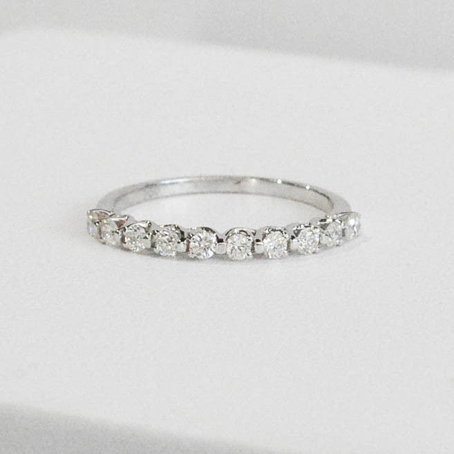 Diamond Wedding/Stackable band - Kristoff Jewelers