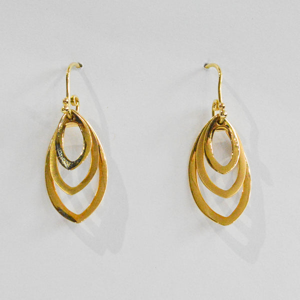 Triple Tier Earrings